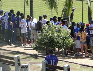 treino cruzeiro (Foto: Tarcísio Badaró)