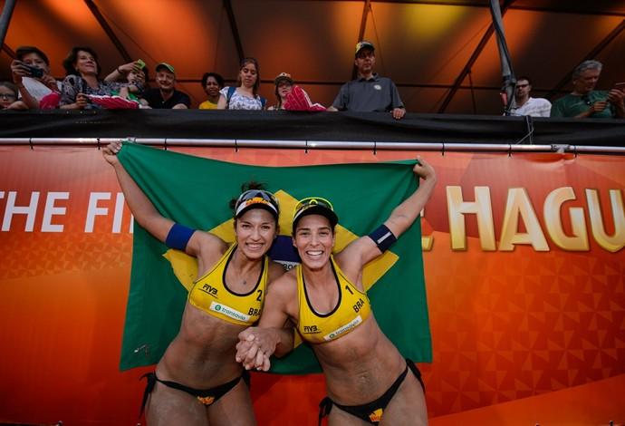 Ágatha e Bárbara Seixas-  vôlei de praia (Foto: FIVB)