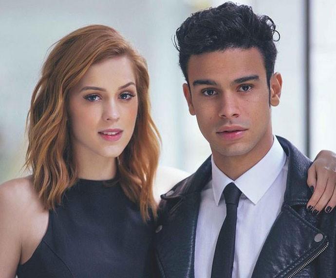 Sophia e Sérgios: casal  (Foto: Arquivo pessoal )