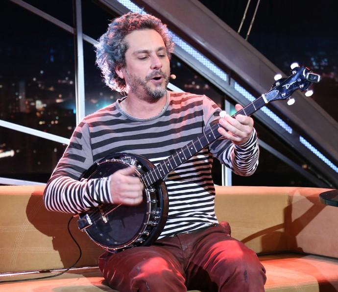 Alexandre Nero mostra número do musical 'O Grande Sucesso' (Foto: Carol Caminha/Gshow)