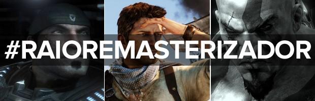 'Gears of War Ultimate Edition', 'Uncharted: The Nathan Drake Collection' e 'God of War III Remastered' são principais remasterizações do segundo semestre de 2015 (Foto: Divulgação)