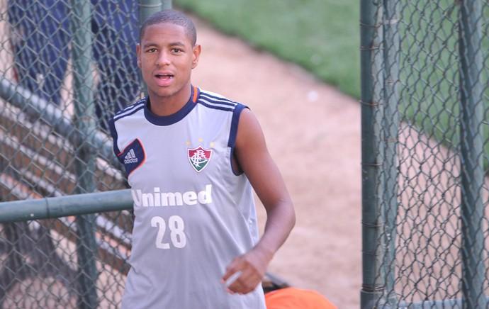 Robert treino Fluminense (Foto: Moyses Ferman/Agência Eleven)