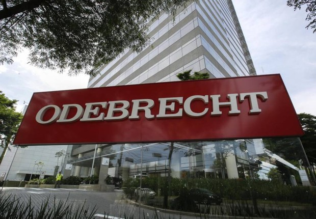 Sede da empreiteira Odebrecht em São Paulo (Foto: Sebastião Moreira/EFE)