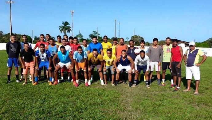 Mazagão; Intermunicipal 2015; treino (Foto: Martins Filho/Arquivo Pessoal)