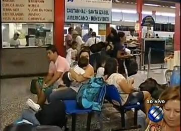 Terminal Rodoviário de Belém  (Foto: Reprodução/TV Liberal )