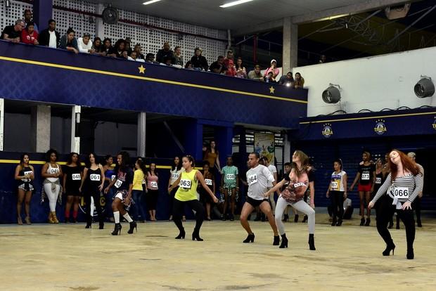 Unidos da Tijuca, Ala Beyonce (Foto: Roberto Teixeira/fotógrafo EGO)