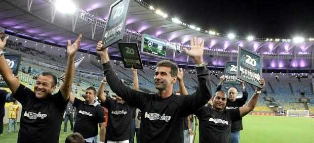 Botafogo homenagem título 1993 (Foto: Nina Lima / Agência O Globo)
