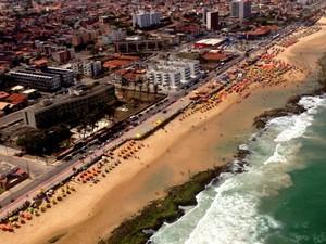 Hotel Reis Magos - Praia do Meio - Natal (Foto: Emmily Virgílio/Inter TV Cabugi)