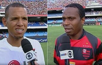 Em 2003, Capetinha vence duelo  com Luis Fabiano em São Paulo x Fla