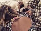 Bruno Gagliasso posta foto de Giovanna Ewbank decotada: 'Amores'