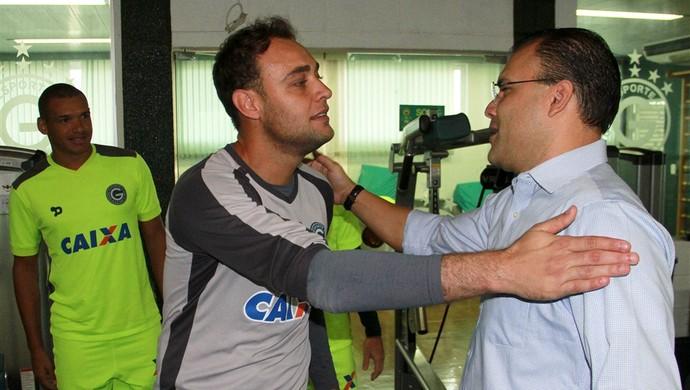 Renan e Harlei - Goiás (Foto: Rosiron Rodrigues / Goiás E.C.)