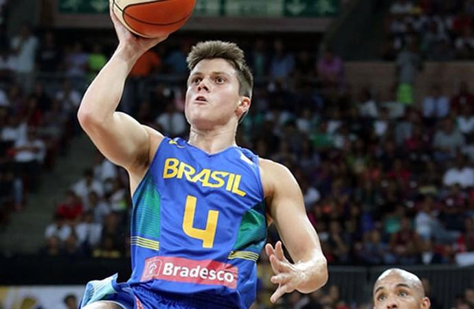Davi Rossetto Brasil Sul-Americano de basquete (Foto: Divulgação/Fiba Americas)