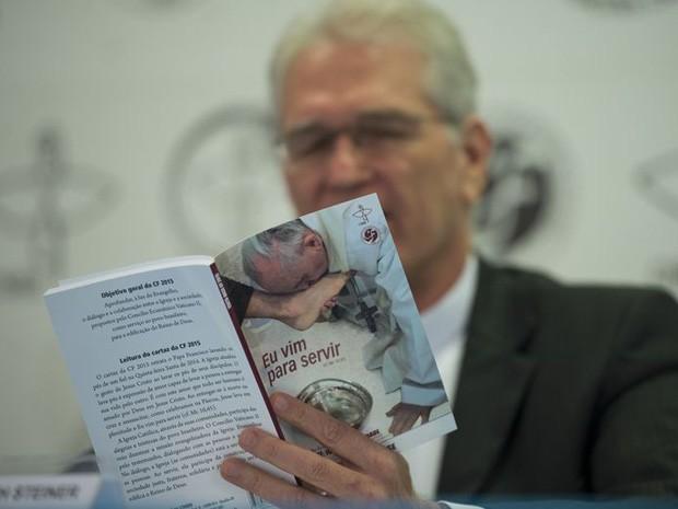 Secretário-geral da CNBB, dom Leopoldo Steiner (Foto: Marcelo Camargo/Agência Brasil)