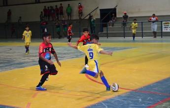 Tiradentes e Constelação brigam pelo título do Futsal Sub-9 nesta segunda