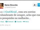 Nana Gouvêa critica Gracyanne no carnaval: 'Exagerou na malhação'
