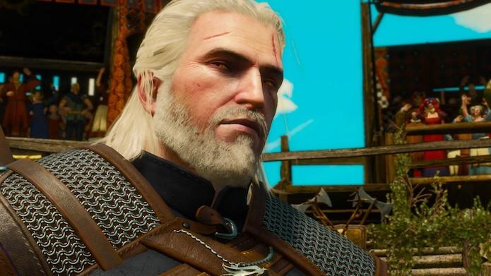 The Witcher 3: Geralt encara o boss obrigatório no Vale de Sansretour (Foto: Reprodução/Victor Teixeira)