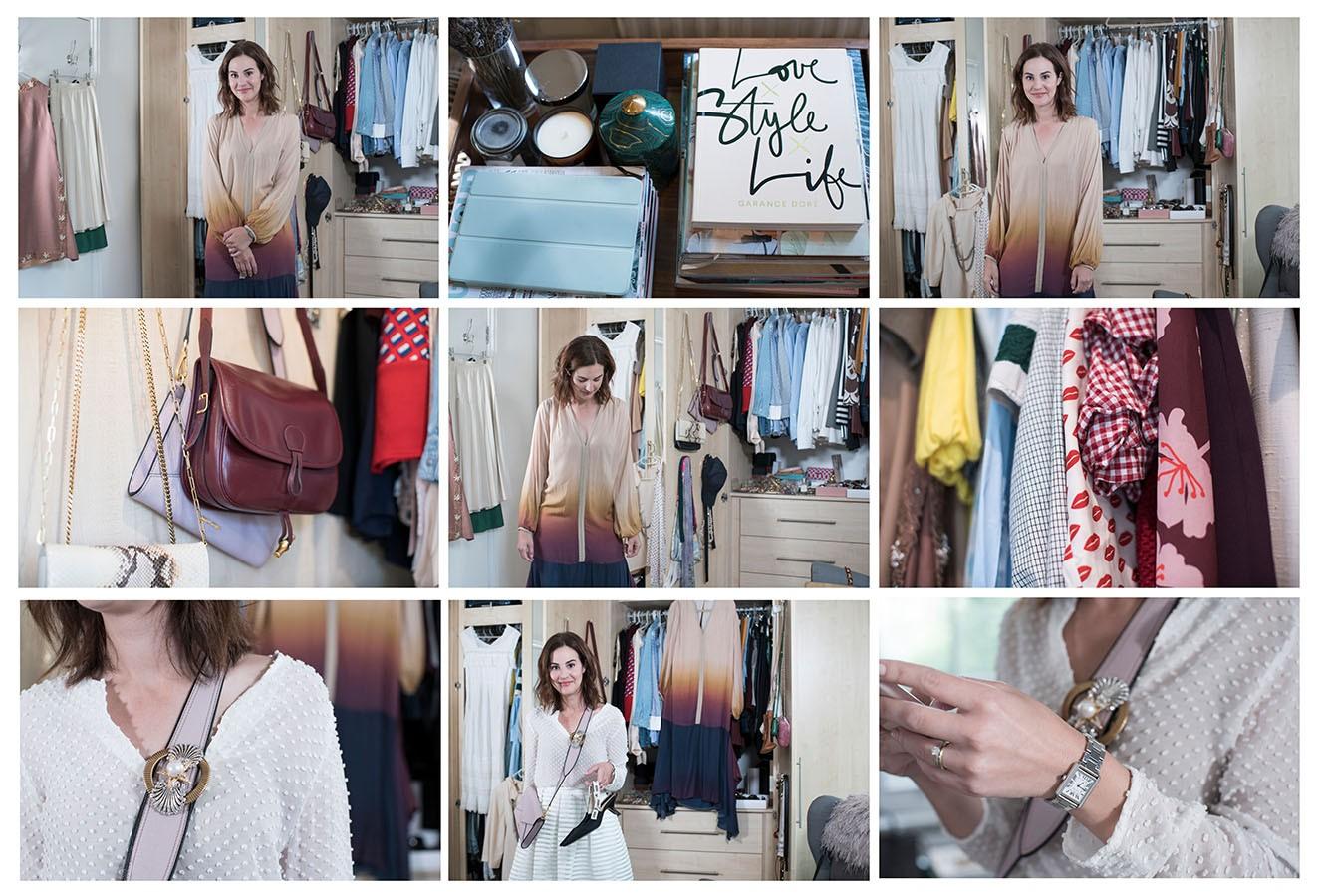 Um Close no Closet de Vic Ceridono (Foto: Camila Guerreiro)