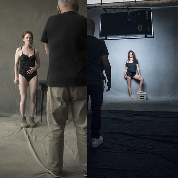 """Juliane Moore e Penelope Cruz: """" (Foto: Divulgação/ Pirelli)"""
