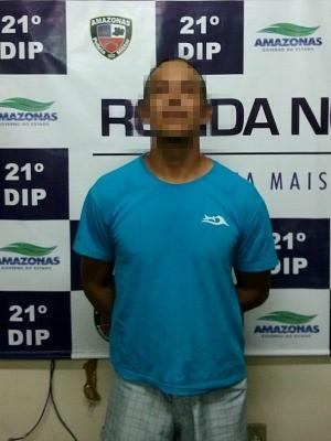 Pai foi detido ao chegar em casa (Foto: Divulgação/Polícia Civil)