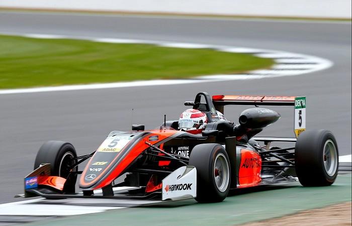 Pedro Piquet na etapa de Silverstone da Fórmula 3 Europeia