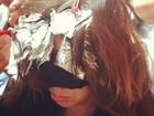 Panicat Renata Molinaro muda a cor dos cabelos