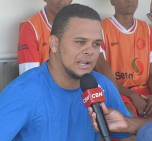 Laerte Santos, Internacional-PB (Foto: Cisco Nobre / GloboEsporte.com)