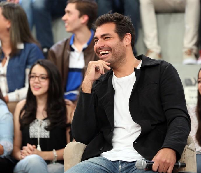 Thiago Lacerda participa do programa 'Altas Horas' (Foto: Carol Caminha/Gshow)