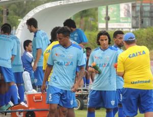 Treino Avaí reservas CFA (Foto: Marcelo Silva)