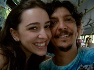 Roberta Sá e Pedro Luís (Foto: Pedro Luís / Arquivo pessoal)