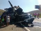 Acidente com cinco veículos deixa uma pessoa morta na BR-116 em MG