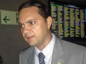 O deputado federal Weliton Prado (PT-MG) (Foto: Nathalia Passarinho / G1)