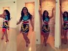 Anitta desabafa antes de desfilar no carnaval: 'Vou com o corpo que tenho'