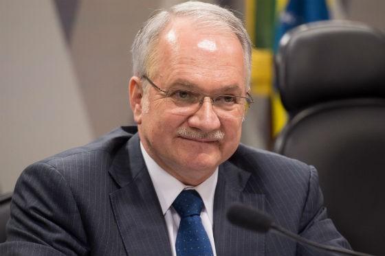 Luiz Fachin na sabatina da CCJ do Senado (Foto: Marcelo Camargo/ABr)