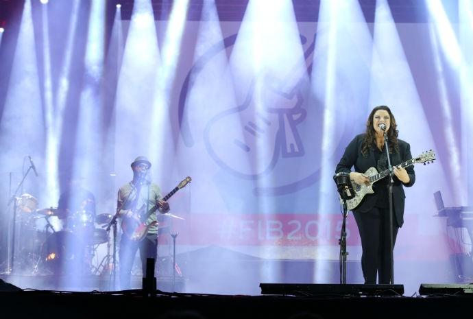 Ana Carolina no Festival de Inverno (Foto: Laécio Lacerda)
