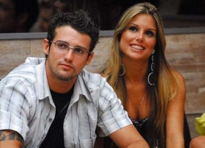 Fernando e Flávia viveram um romance no BBB7 e foram casados por nove anos (Foto: TV Globo)