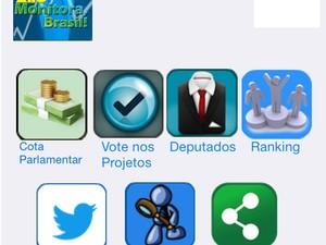 """""""Monitora, Brasil"""", um dos projetos vencedores da 1ª Maratona Hacker da Câmara dos Deputados  (Foto: Reprodução)"""