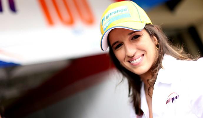 A paulista Bia Figueiredo será a primeira mulher a disputar a Stock Car  (Foto: Rafael Gagliano/ Hyset)