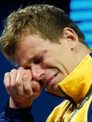 cesar cielo natação ouro natação barcelona (Foto: Reuters)