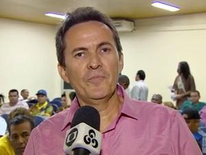 Marcos Queiroz, candidato do PSOL à prefeitura de Manaus (Foto: Reprodução/TV Amazonas)