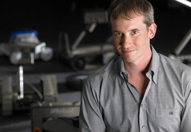 Colin Angle, presidente da empresa iRobot, fabricante do aspirador de pó Roomba (Foto: Divulgação)