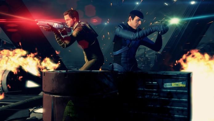 Star Trek, o jogo do filme (Foto: Divulgação)