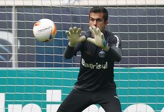 Marcelo Grohe Grêmio  (Foto: Lucas Uebel/Grêmio )