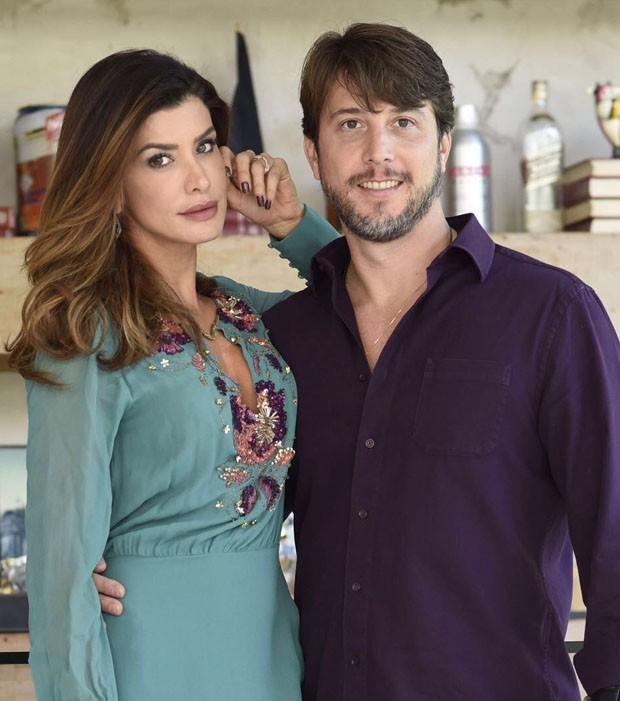 Carol Castelo Branco e Pedro Queirolo (Foto: Emerson Lima/Divulgação)