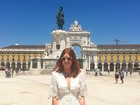 Marina Ruy Barbosa faz tour por Portugal após viagem pela Ásia