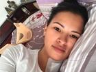 Ariadna se recupera em casa após operar hérnia: 'Ótima e sem dores'