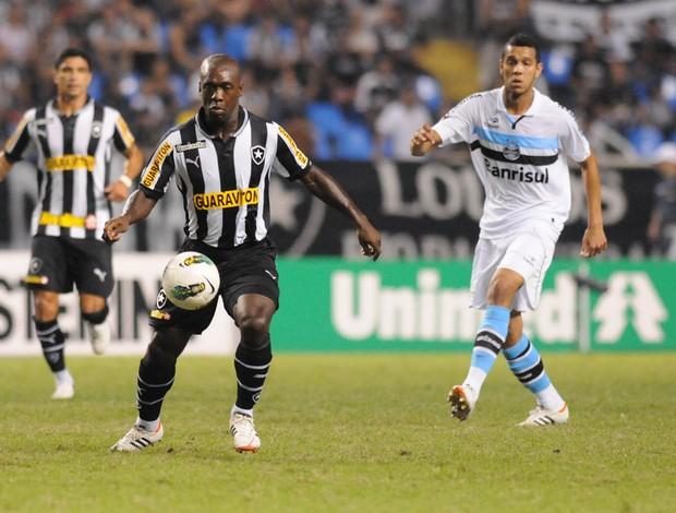 Seedorf Botafogo x Grêmio (Foto: André Durão / Globoesporte.com)