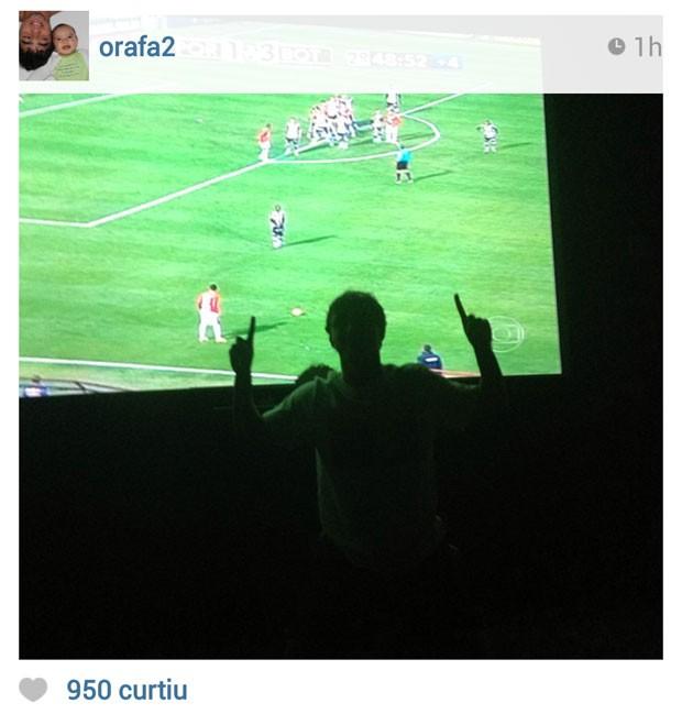 instagram Rafael do manchester united (Foto: Reprodução / Instagram)