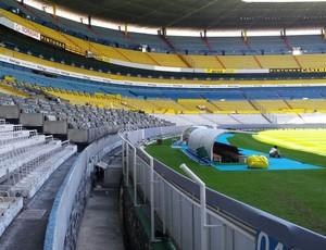 Estádio Jalisco, em Guadalajara, no México,  casa do Atlas (Foto: Fernando Martins Y Miguel)
