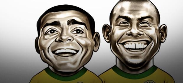 Carrossel Aspas Ronaldo e Romário 300
