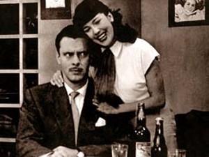 Vida Alves e Walter Forster, que deram o primeiro beijo da TV brasieira, na novela 'Sua vida me pertence', de 1951 (Foto: Arquivo Pessoal)
